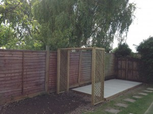 Arbour & Shed Base Wendover