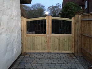 Entrance Gates Oving