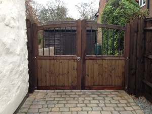 Entrance Gates Oving After