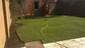 Fairford Leys Turfing After