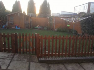 Picket fence After